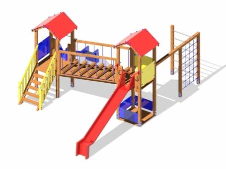 Il colle giochi da giardino per bambini vicenza padova for Altalena con ponte