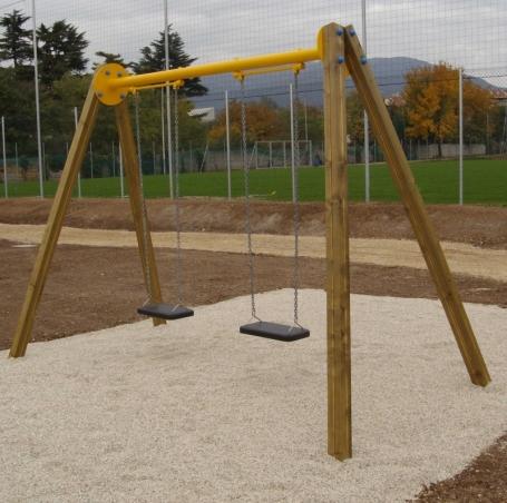 Il colle giochi da giardino per bambini vicenza padova for Altalena legno usata
